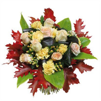 Flower flame bouquet