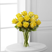 The Yellow Rose Bouquet by FTD® - VASE INCLUDED