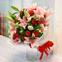 Roses and Lilies Bouquet